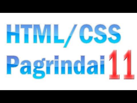 HTML/CSS Pagrindai #11 - CSS Sintaksė Ir Selektoriai