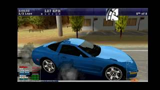 Need for Speed III: Hot Pursuit (PC) on Exagear Windows Emulator (Android)