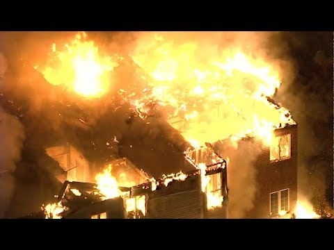 Massive fire engulfs nursing home near Philadelphia