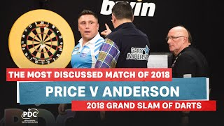 THE MOST DISCUSSED MATCH OF 2018 | Price v Anderson | 2018 Grand Slam of Darts Final