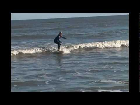 a0af8daaf9 Brenna surfing Jekyll Island - YouTube