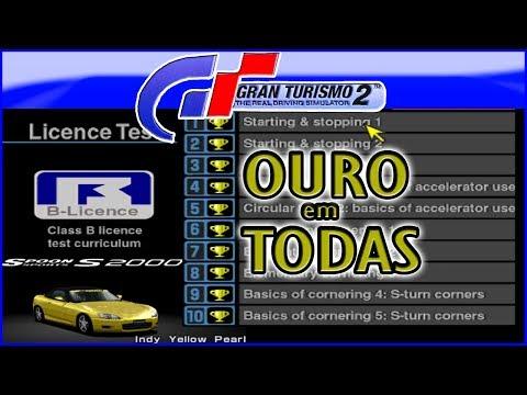 OURO EM TODAS LICENÇA B - Gran Turismo 2 thumbnail