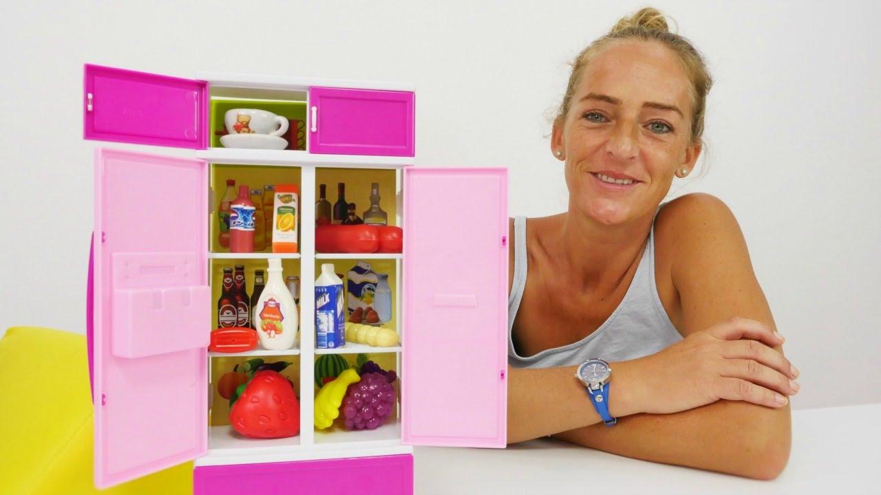 Video mit Spielzeugen! Packe neuen Kühlschrank aus. - YouTube