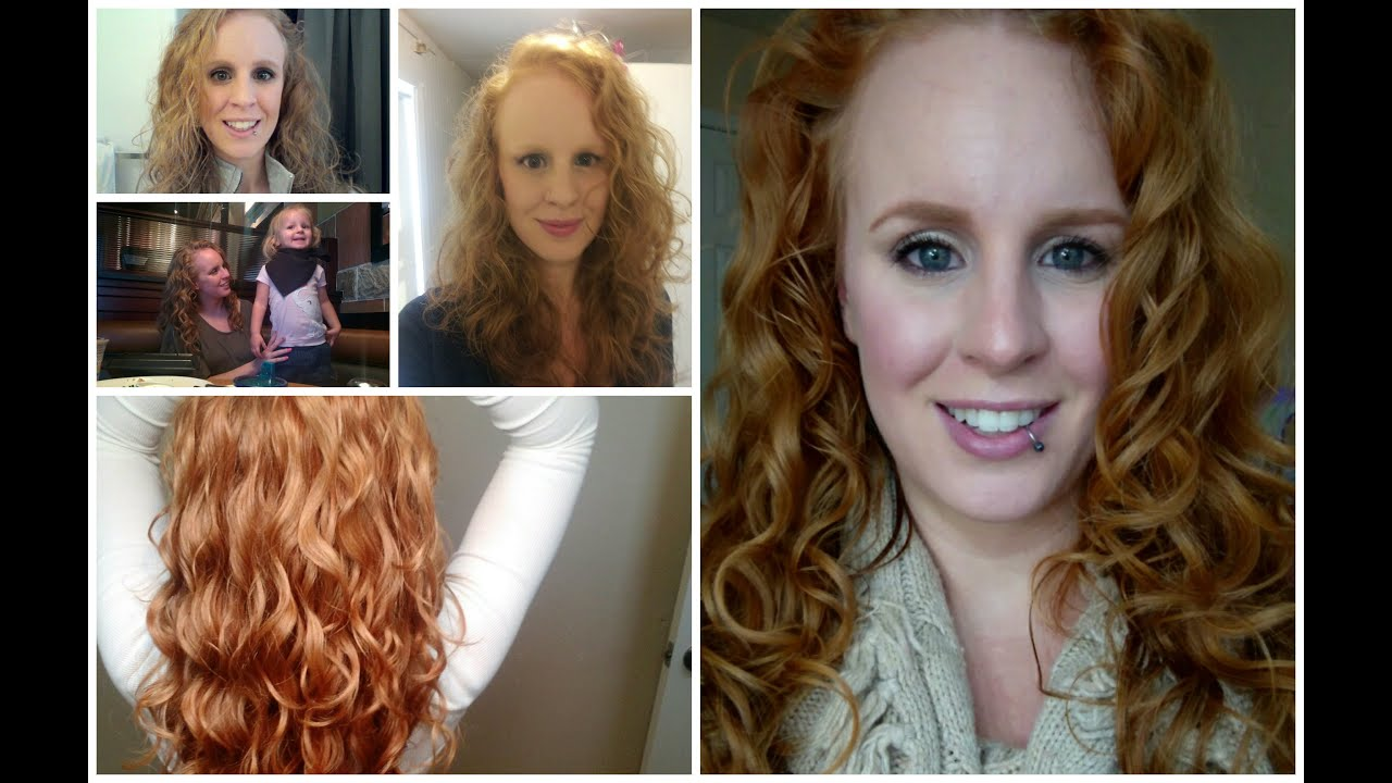 Curl Journey Before And After Curly Girl Method Youtube