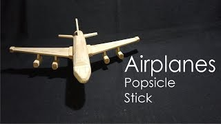 Airplane | Popsicle | STIK HANDCRAFT