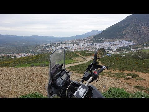Motorcycle Adventure Morocco, Part 2 - Tangier and Chafchaouen