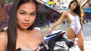 PATTAYA GIRLS AND MOTORBIKES | Thailand Nightlife 2018