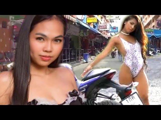 PATTAYA GIRLS AND MOTORBIKES | Thailand Nightlife
