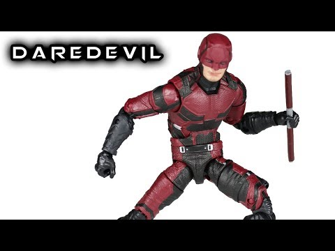 Marvel Legends DAREDEVIL Netflix Marvel Knights Action Figure Toy Review