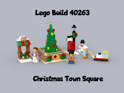 Quick Build - Christmas Town Square 40263