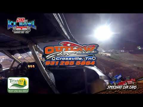 #28 Lee Hutchinson - Hotshots - 1-6-19 Talladega Short Track - In Car Camera