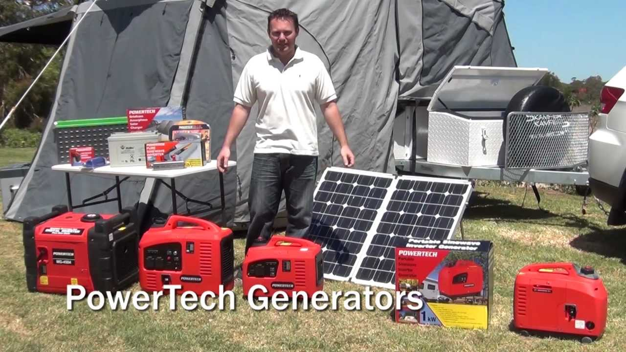 Powertech Your Typical Install For Camper Trailers Caravans Generator Also Solar Panel Charge Controller Wiring Youtube