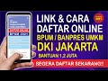 LINK DAN CARA DAFTAR BANTUAN UMKM ONLINE JAKARTA 2021