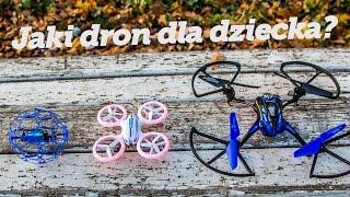 Jaki dron dla dziecka na początek? 3 różne możliwości! - Test PoszukiwaczyFrajdy.pl