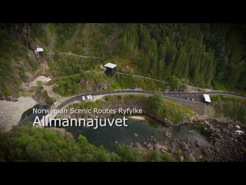 Nasjonal turistveger Allmannajuvet/Norwegian Scenic Routes