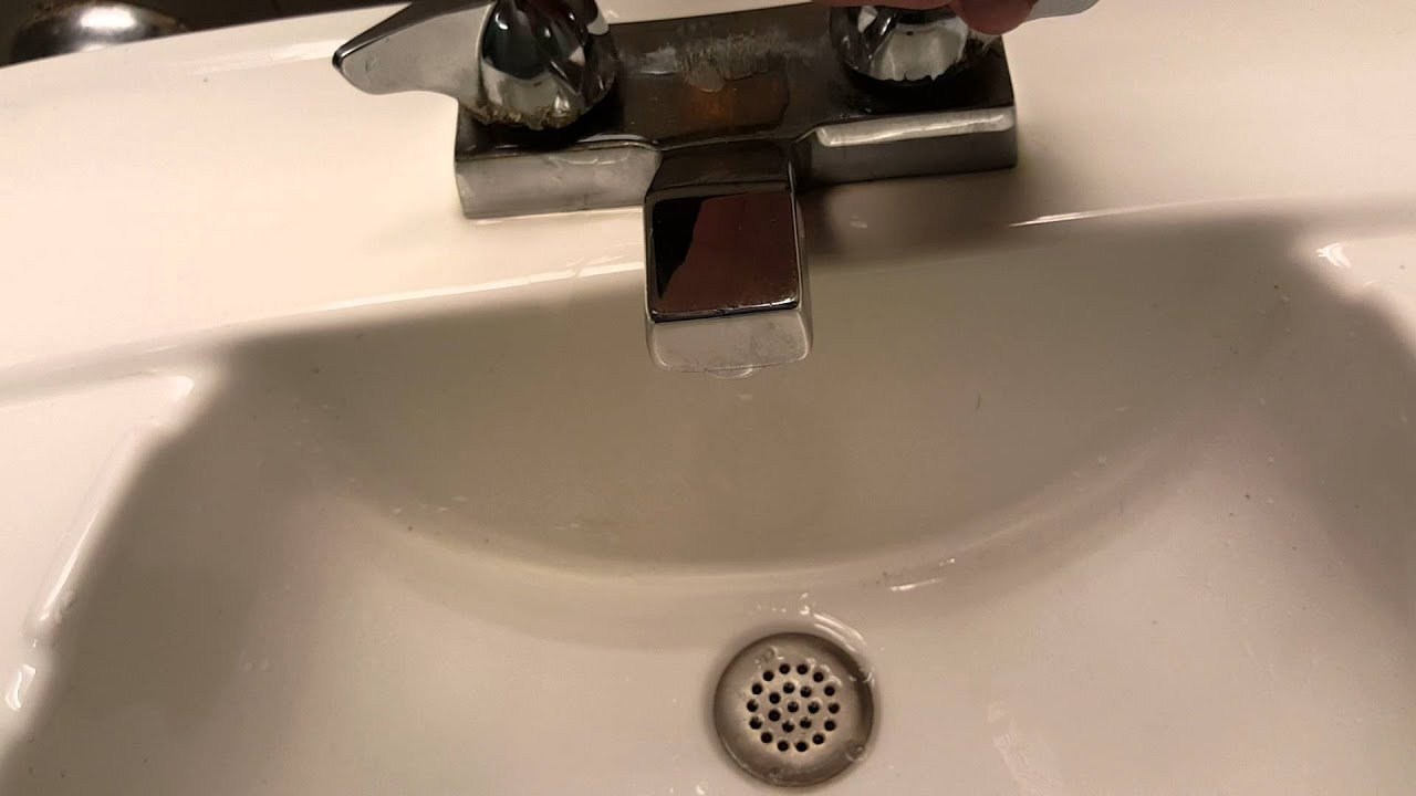 Bathroom Faucet Making Noise why is this faucet making this noise? - youtube