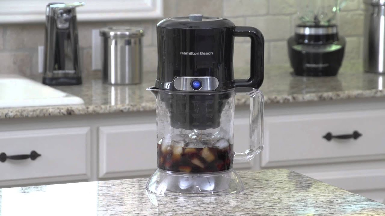 Hamilton Beach® Iced Coffee Maker 40912 - YouTube