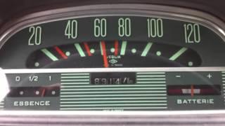 Ami 6 1967 changements de rapports de vitesse