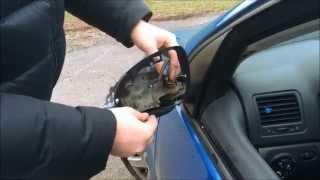 Sostituzione Frecce Specchietto VW GOLF 5 MK5 Guida Led Turn Signal Turoial