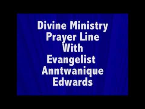 Divine Ministry Prayer Line 01 18 2017