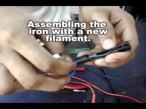 how to test and repair soldering iron youtube. Black Bedroom Furniture Sets. Home Design Ideas