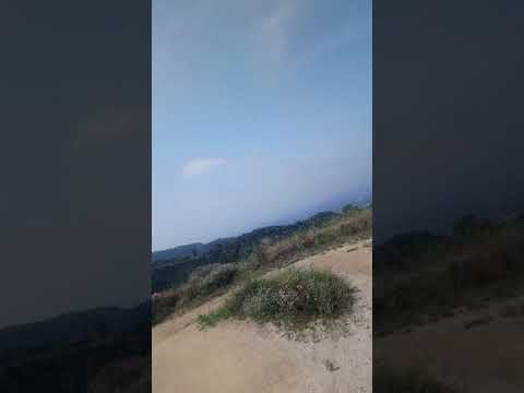 Siclismo en en las montañas de california
