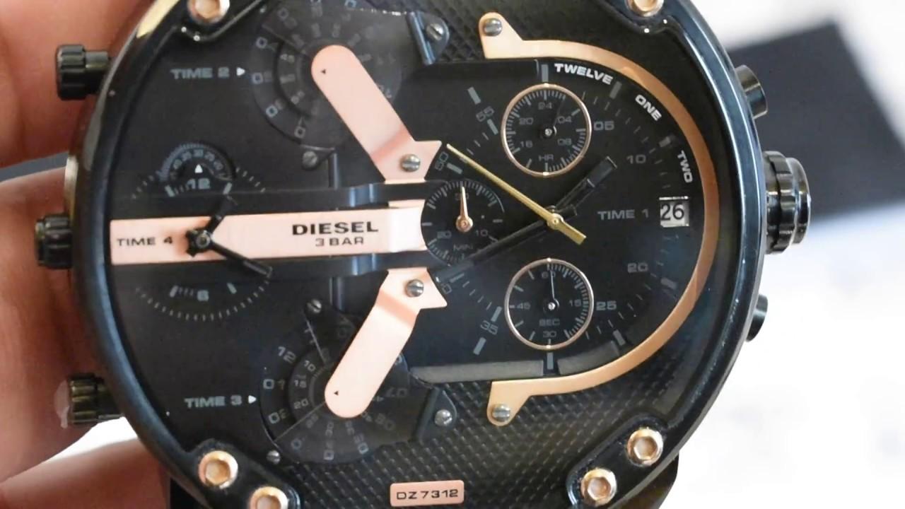 5572f47fb7a Relógio Diesel DZ7312 Original - YouTube