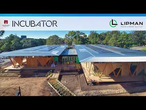 LIPMAN PTY LTD - Maquarie University Incubator - Final Construction Time Lapse AUG 2017