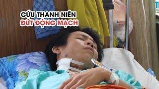 Cứu nam thanh niên bị đạn bắn đứt động mạch ở cổ