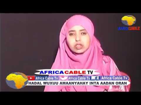 BARNAAMIJKA DHAQANKA IYO SUUGAANTA AFRICA CABLE TV 16 05 17