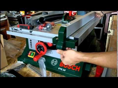 Umboxing Banco Sega Bosch PTS 10 - Fai da Te ITALIA