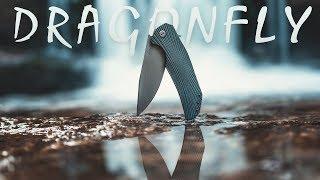 Herman knives Dragonfly mój najlepszy folder.