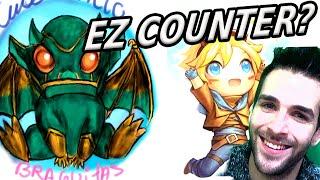 GALIO = EZREAL AP MID Counter !? Skyyart League of Legends