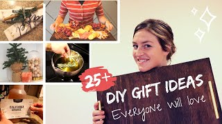 25+ DIY Christmas Gifts that Your Friends and Family Will LOVE to Receive!