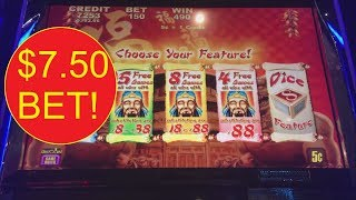 LUCKY 88! AND A MIXED BAG OF SLOTS MACHINE BONUSES!