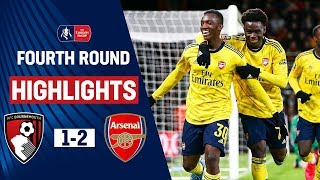 Saka Stars as Nketiah Fires Young Gunners Through | Bournemouth 1-2 Arsenal | Emirates FA Cup 19/20