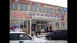 панорама возле входа в универмаг г. Абдулино