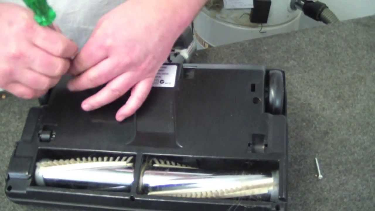 How To Fix A Wertheim 5035 Vacuum Powerhead When The Brush