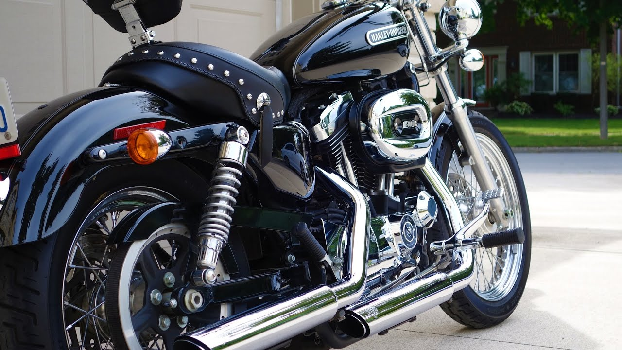 2009 harley davidson sportser 1200 low review - first time harley