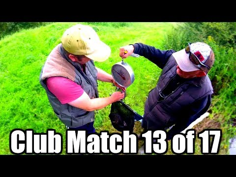 RIVER OUSE FEEDER FISHING CLUB MATCH