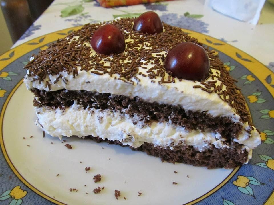 dolci ricette senza glutine torta foresta nera per i