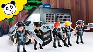 Playmobil Polizei - Die Top 3 Gangster und Polizei Fahrzeuge! - Spielzeug auspacken & spielen