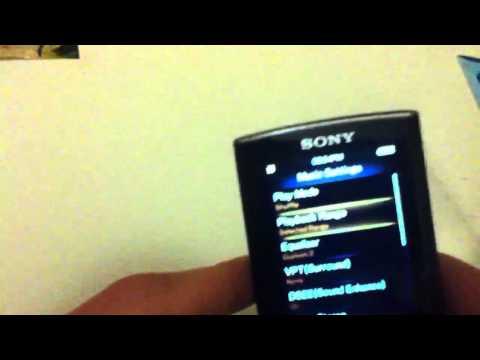 Sony Walkman NWZ-E354 Review