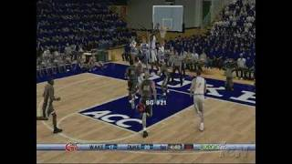 College Hoops 2K6 Xbox 360 Gameplay - D-Fence