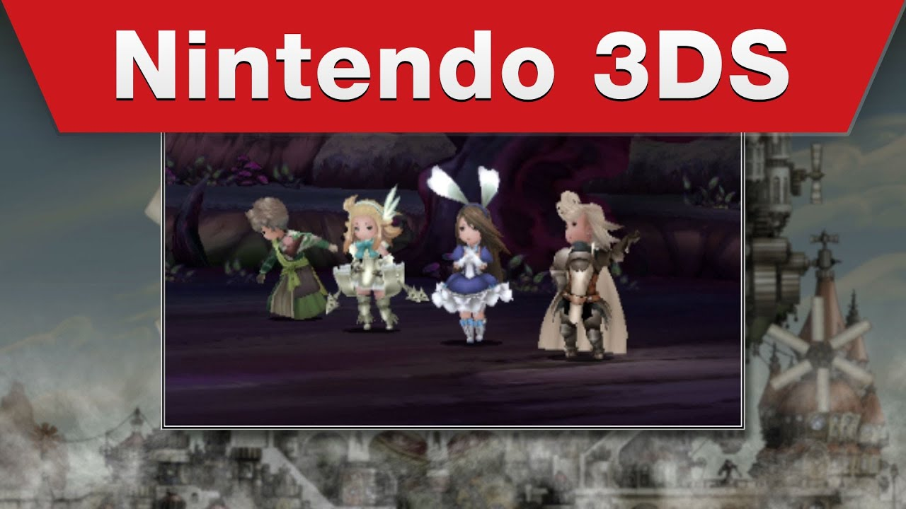 Nintendo 3DS - Bravely Default - Demo Trailer