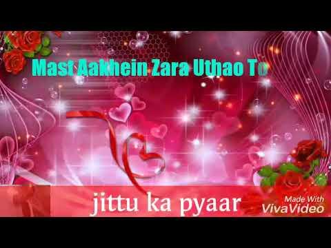 Mast Aankhen Zara Uthao to status qawwali