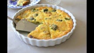 Crustless Broccoli and Ham QuicheFirstfruit Kitchen