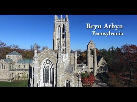 Bryn Athyn, Pennsylvania (Aerial View)