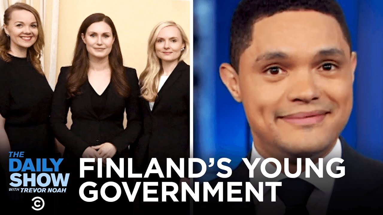 Download Finland's Super Young New Prime Minister   The Daily Show