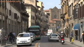 Traffic in Florence (Italy) - youtube.com/tanvideo11